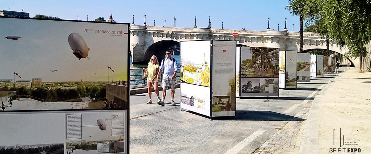 expo photos temporaire exterieur paris