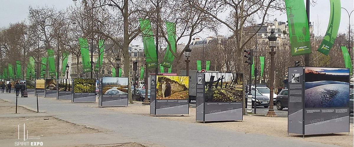 exposition en exterieur paris