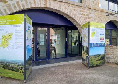 exposition exterieure itinerante Buxy