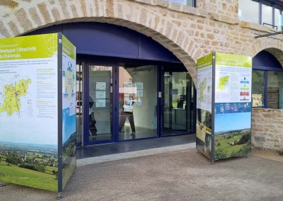 Support exposition itinérante Buxy