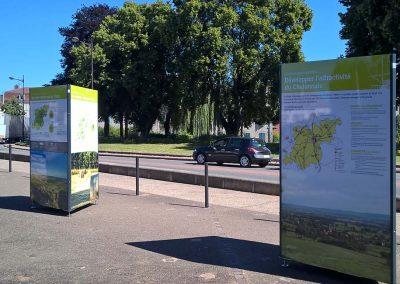 exposition exterieure itinerante sennecey-legrand