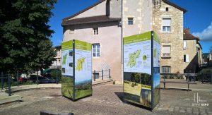Support exposition itinérante Savigny-sur-Grosne