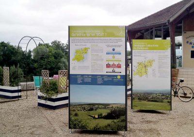 Support exposition itinérante Verdun sur le Doubs