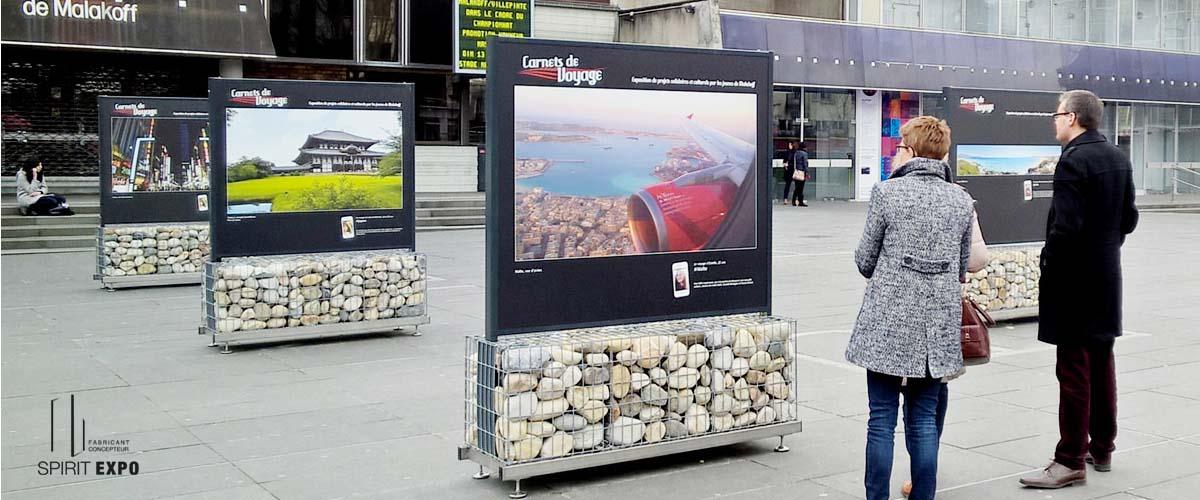 location panneau pour exposition photos