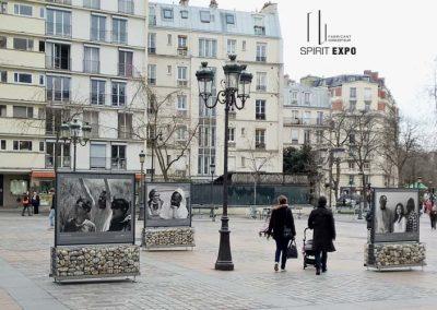 exposition photos exterieur temporaire