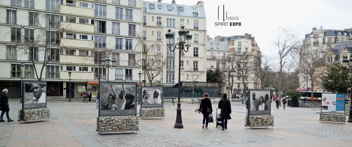 exposition en extérieur paris