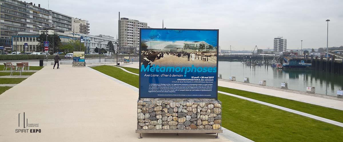 exposition photos exterieure Boulogne