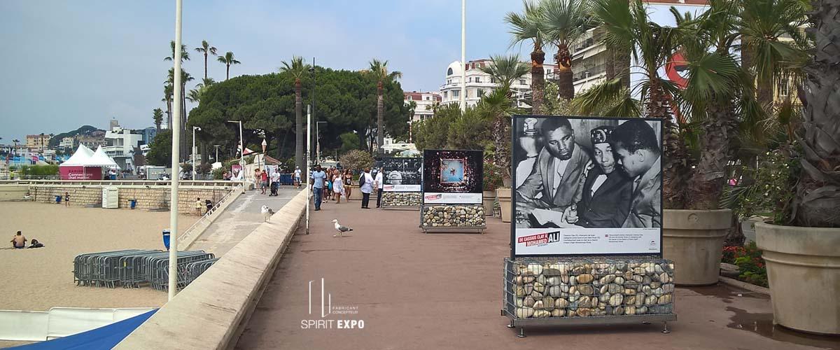 exposition photos temporaire_ exterieur Cannes