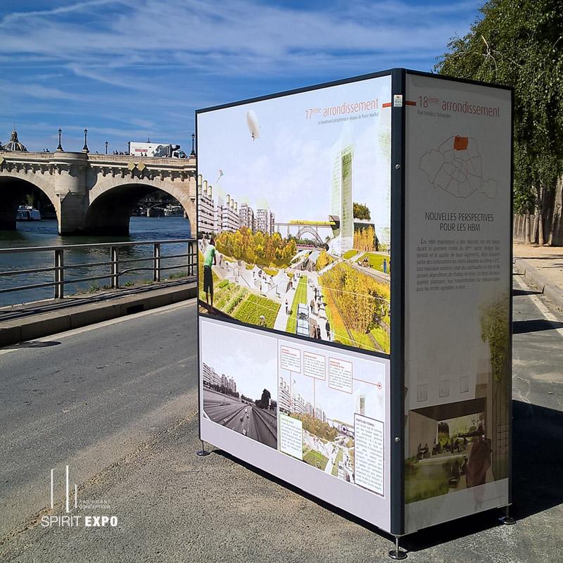 Exposition extérieur Paris
