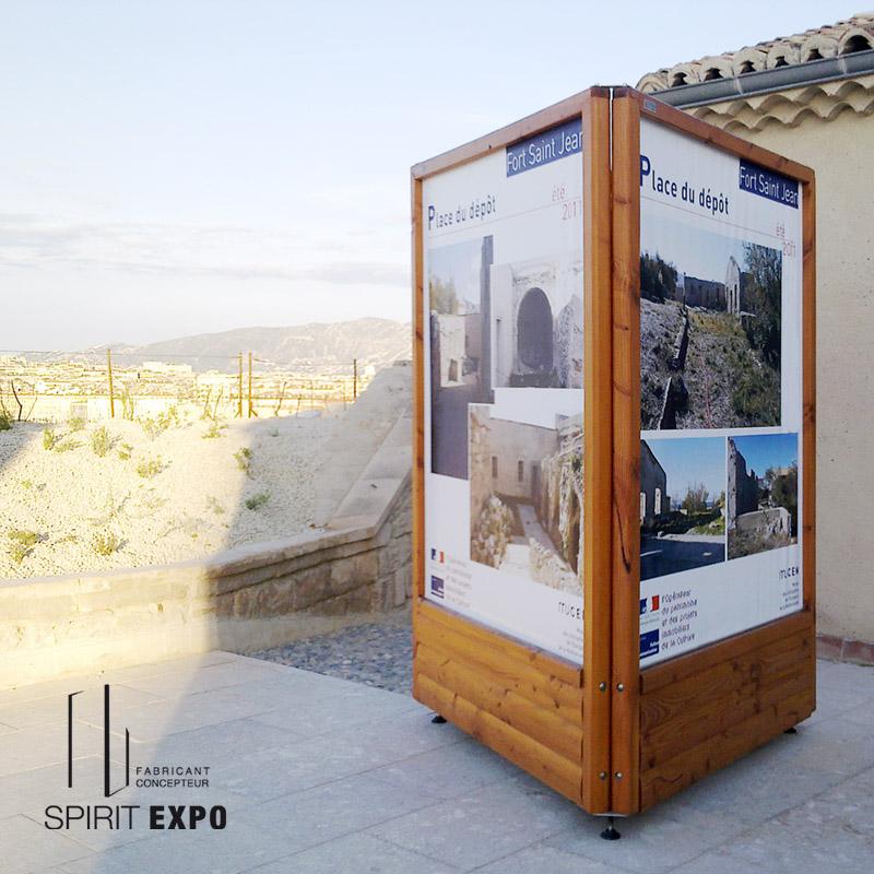 location support expo et affichage temporaire en extérieur