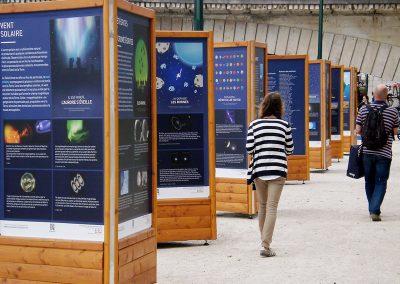 support 3 faces expo exterieur paris