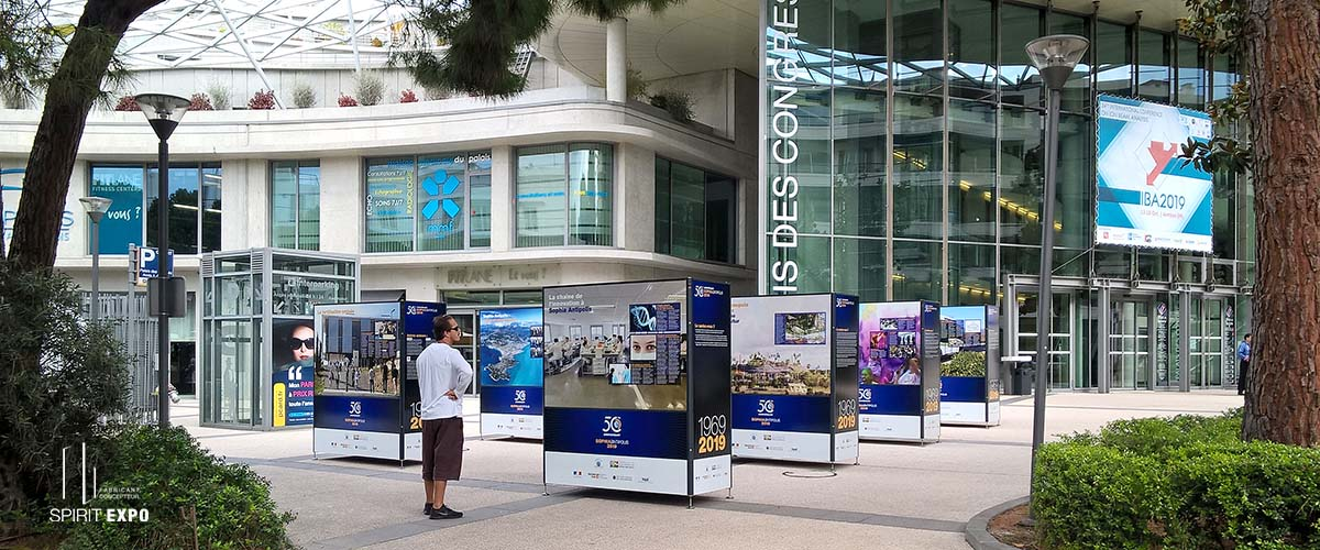 Exposition photos exterieur Antibes