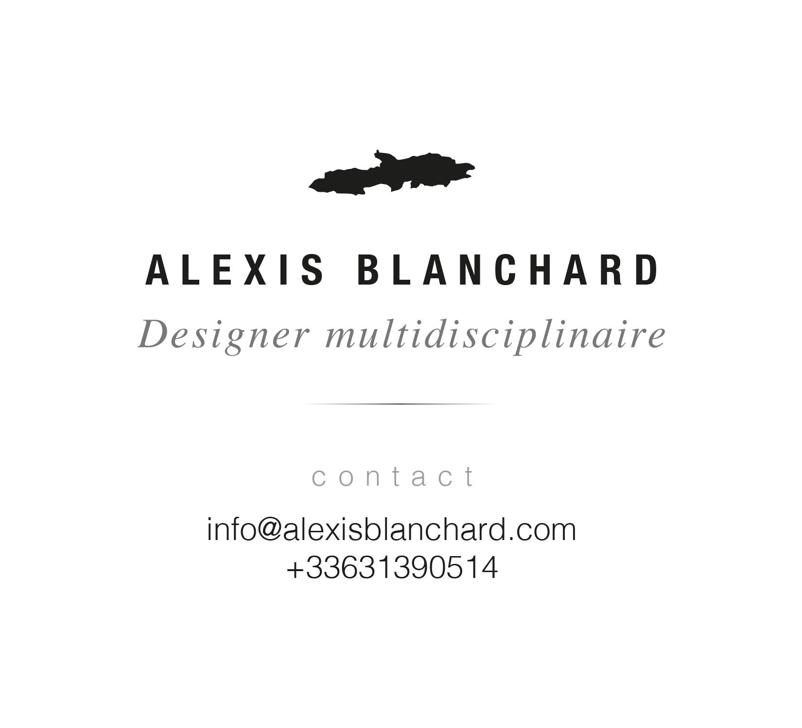 Alexis Blanchard designer