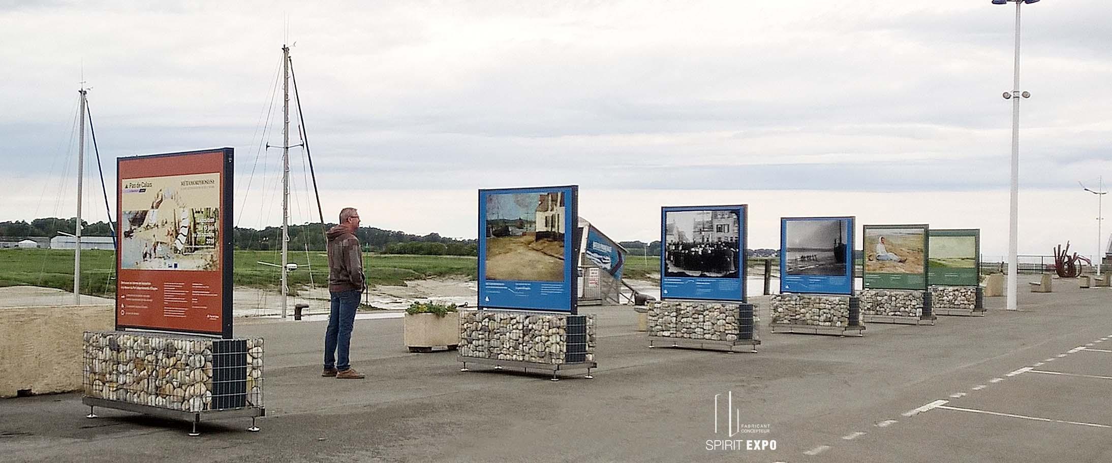 panneaux exposition extérieur Etaples