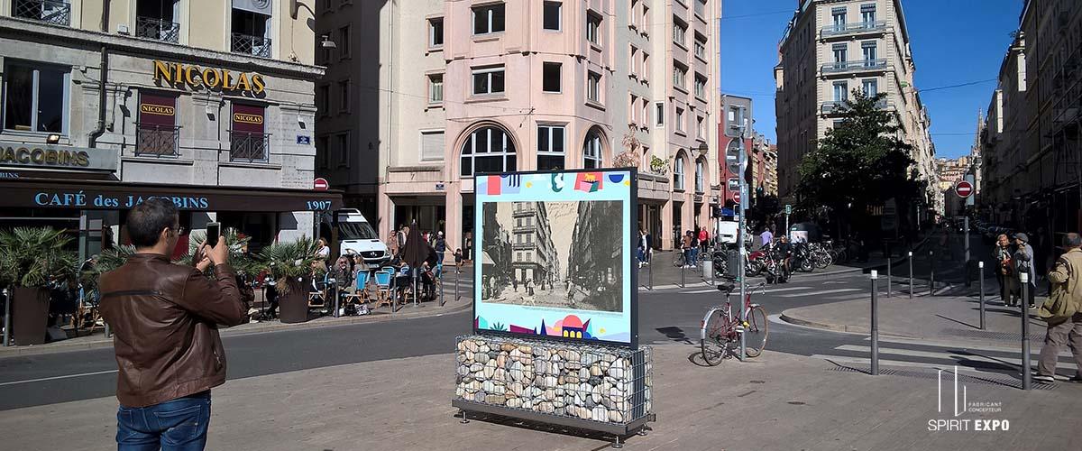 support exposition photos Lyon
