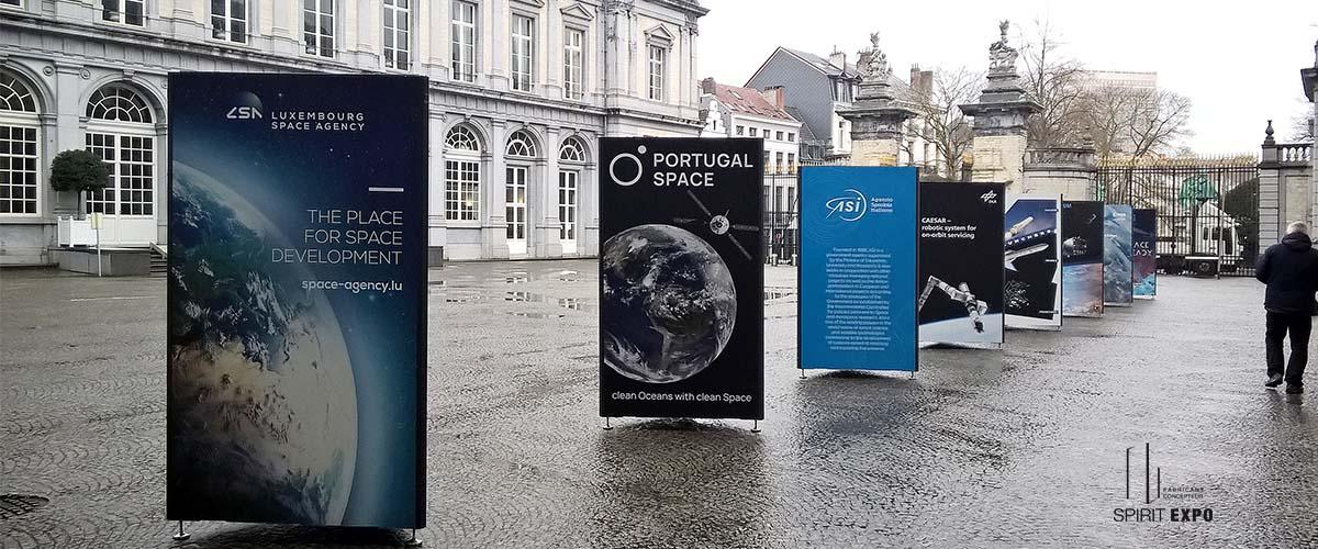exposition aérospatial Bruxelles