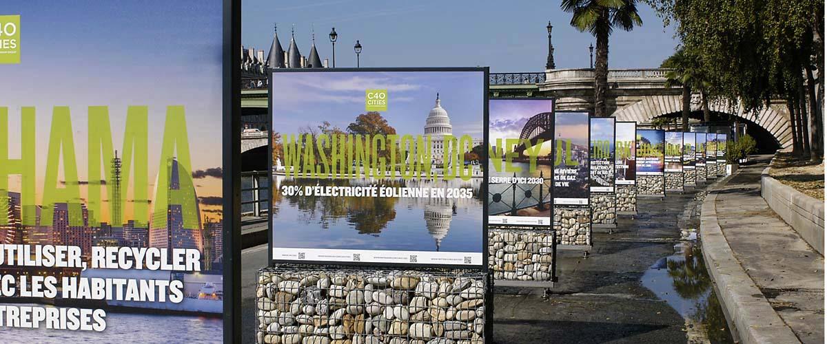 exposition exterieur Paris