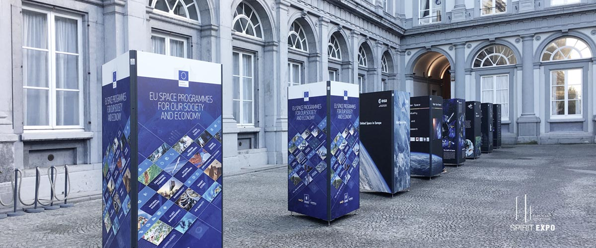 exposition exterieur Bruxelles