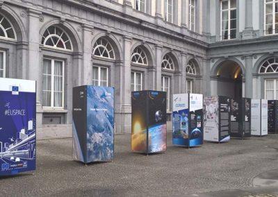 exposition extérieur Bruxelles