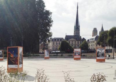 exposition exterieur Rouen