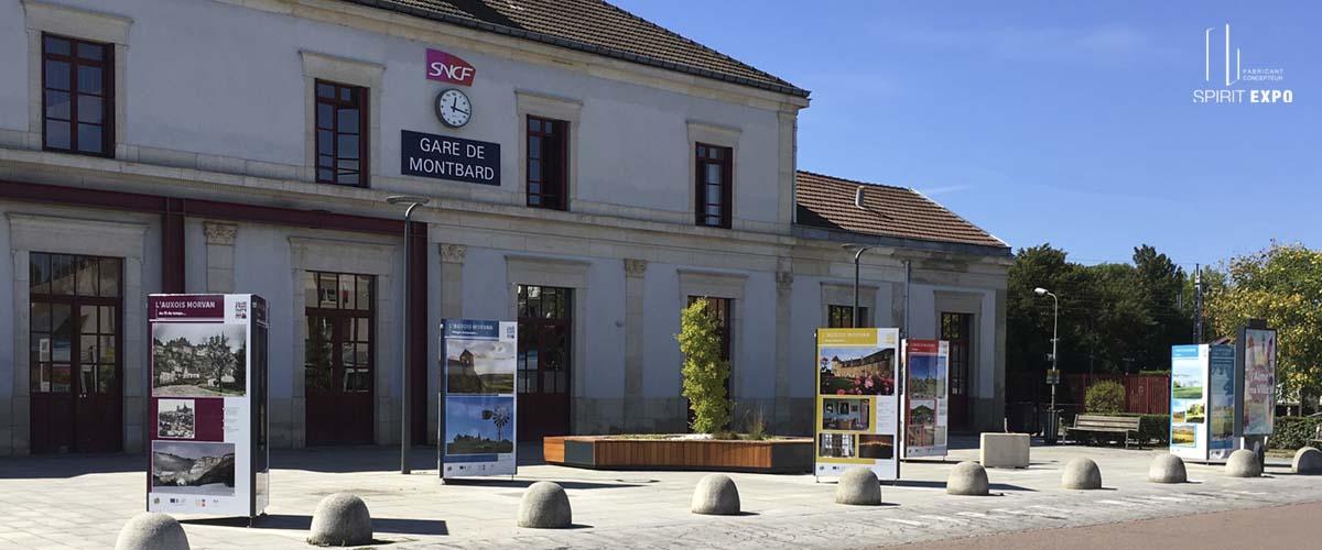 exposition exterieur Monbard