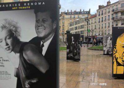 exposition photos exterieur Renoma