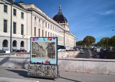 exposition photos extérieur Lyon