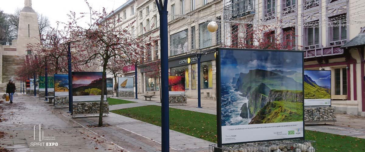 exposition photos exterieur Verdun