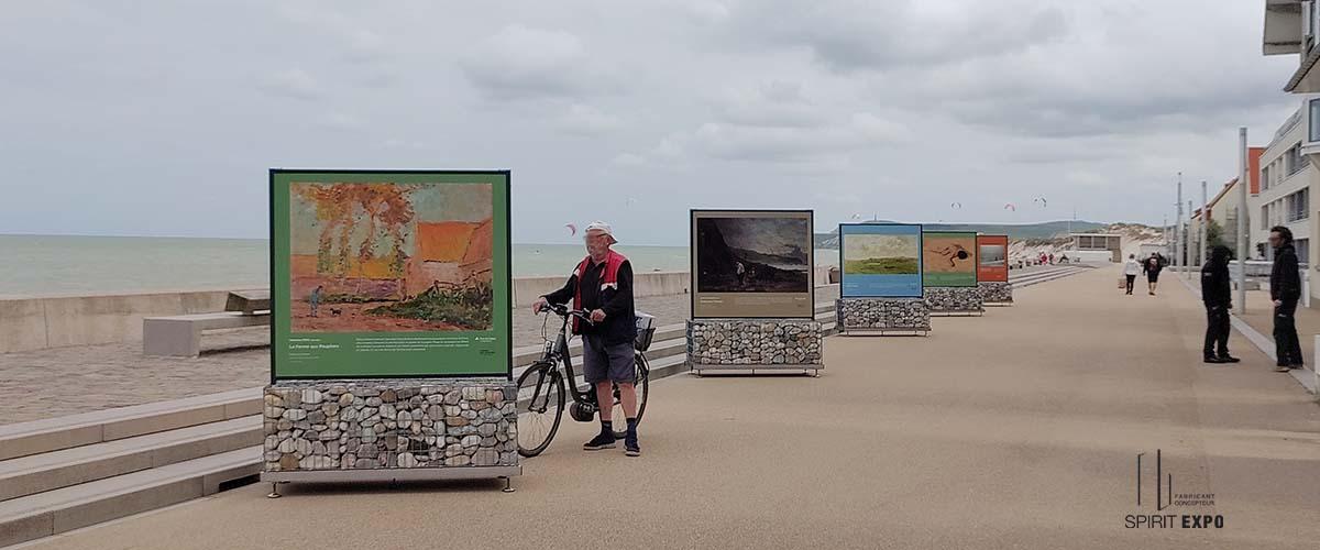 exposition photos extérieur Wissant