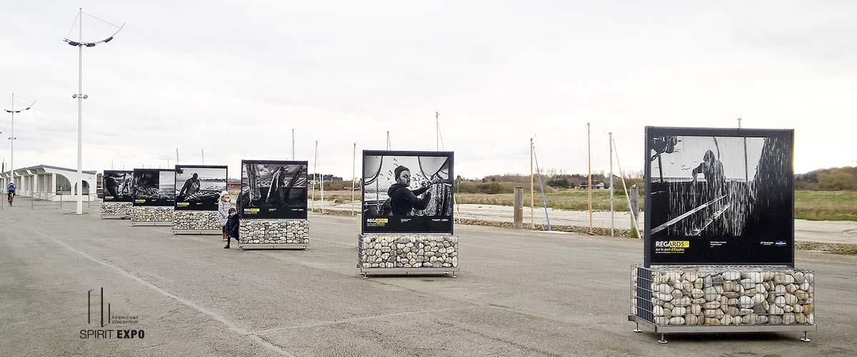 exposition de photos en extérieur Etaples