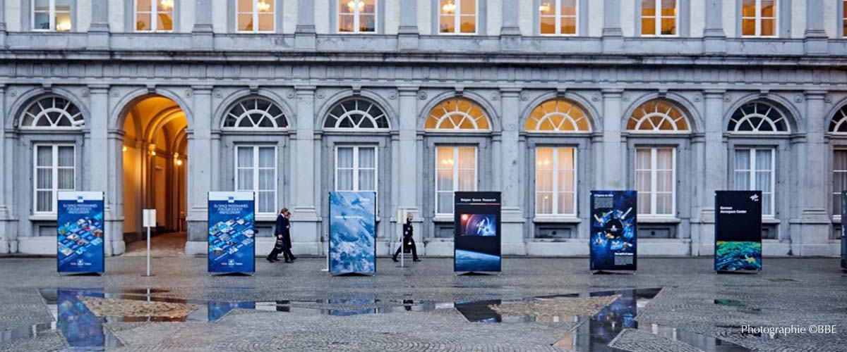 exposition temporaire exterieur Bruxelles