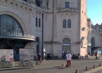 exposition travaux gare La Rochelle