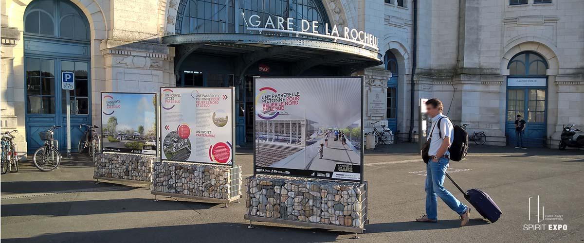 gare La Rochelle exposition_exterieur
