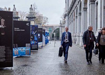 location totem expo Bruxelles