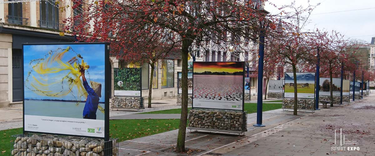 panneau expo temporaire exterieur Verdun