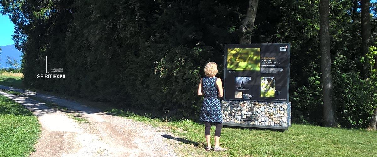 panneau exposition Photos Yvoire