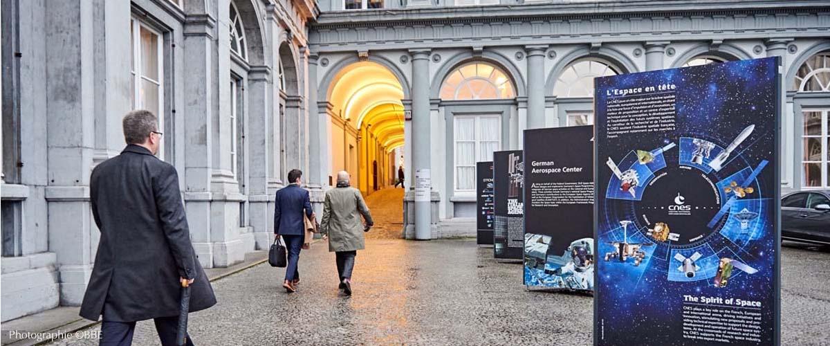 panneaux exposition exterieur Bruxelles
