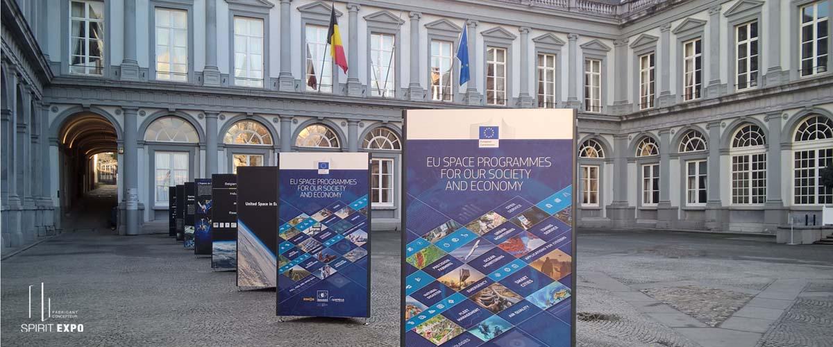 support expo exterieur Bruxelles