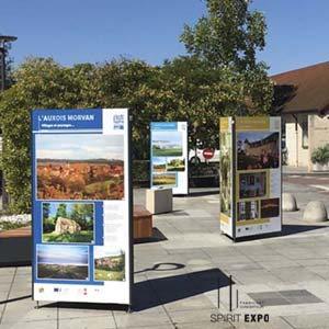 support exposition photos exterieur_montbard