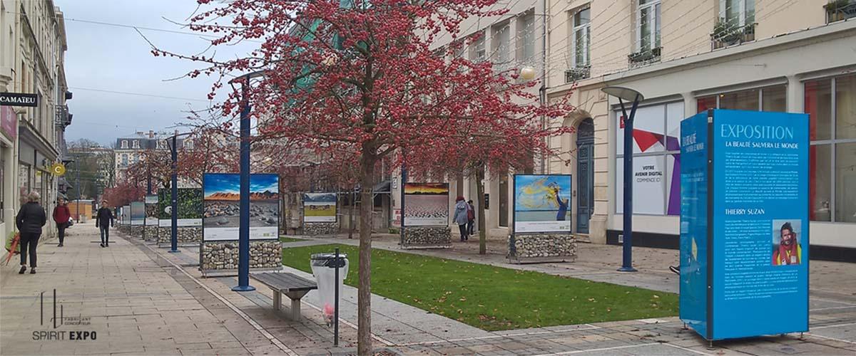 support exposition exterieur Verdun