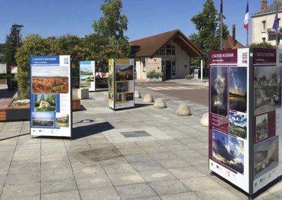 support exposition photos_extérieur Montbard