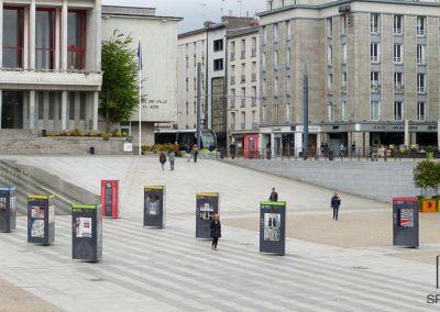 totem exposition extérieur Brest